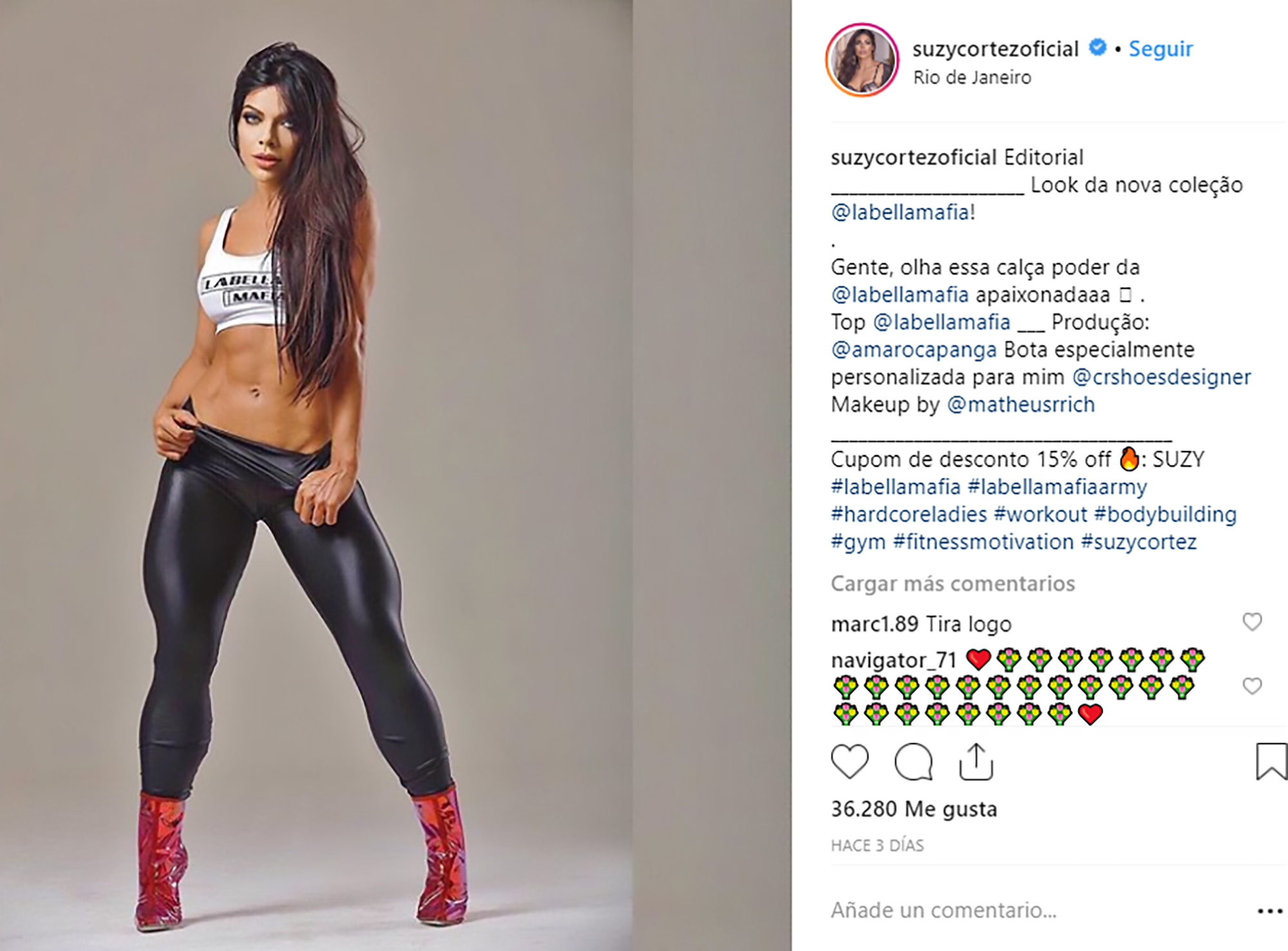 Naked Miss BumBum Smears Parts With Berries And Cream