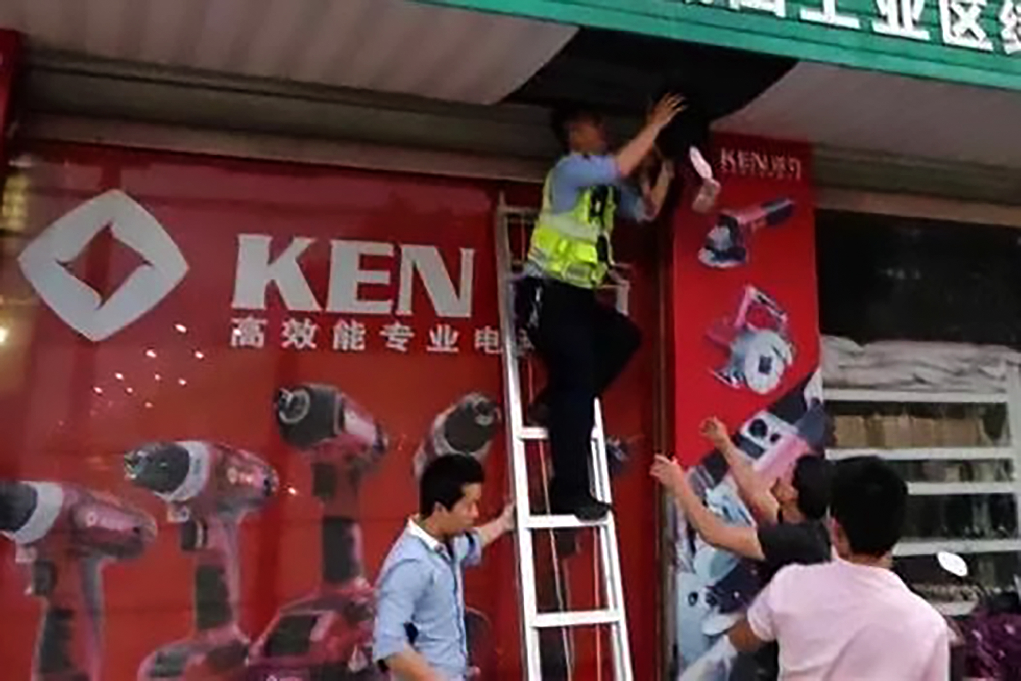 Girl Survives 5th-Floor Drop After