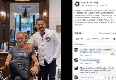 Pop Star Sting Unmasks Himself After Song In Barbers