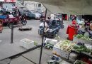 Tot Reverses Idling Pedicab Into Woman At Market