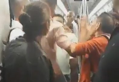 Tube Passengers Brawl In Busy Carriage