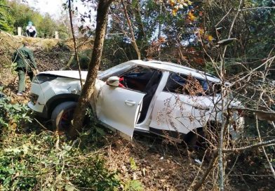 Pregnant Mum Crashes Off Mountain Road With Family