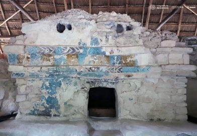 Expert Finishes Lifes Work Of Restoring Mayan Murals
