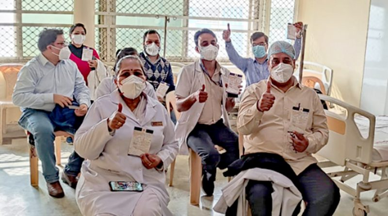 First Day, First Shot: India Launches The World's Largest Vaccination Drive
