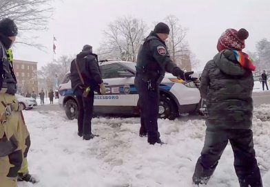 VIDEO: Freeze Punks: Cops And Firefighters Take On Kids In Snowball Fight