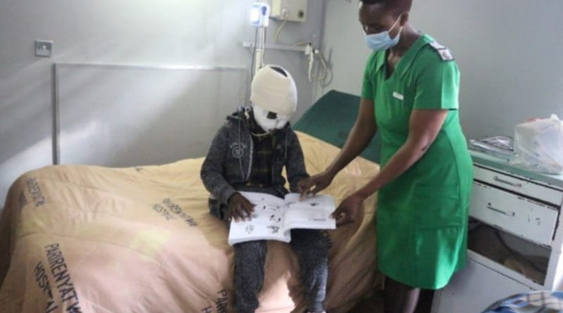 Boy Whose Face Was Ripped Off By Hyena At Church Service Set To Undergo Facial Reconstruction