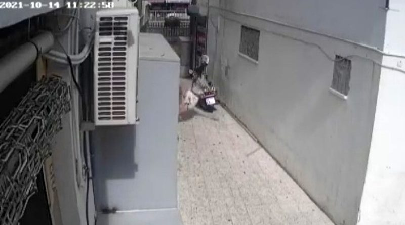 Tourist Survives Falling From 6th Floor Apartment And Crashing On Concrete Path