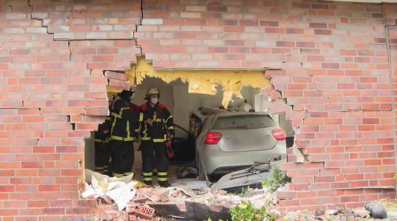 Miracle As Woman, 85, Crashes Mercedes Into Living Room With Family Of Five